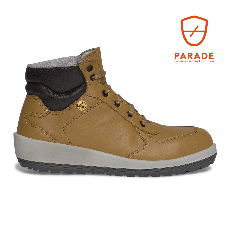 chaussures de sport 5a6bb e5db2 Chaussure de sécurité haute femme BALLIA S3 SRC ESDChaussure ...